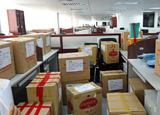 Xe tải chuyển nhà về Bình Định